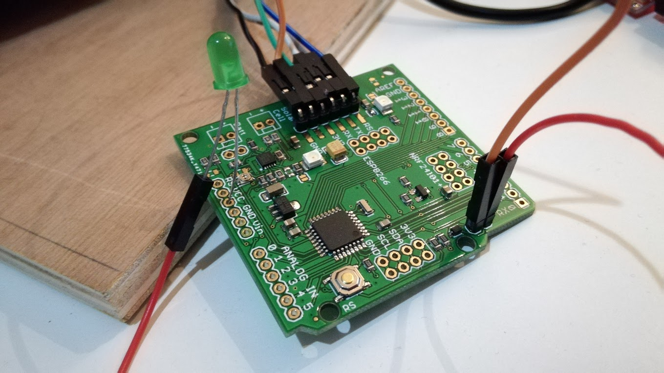 Ceech board with led